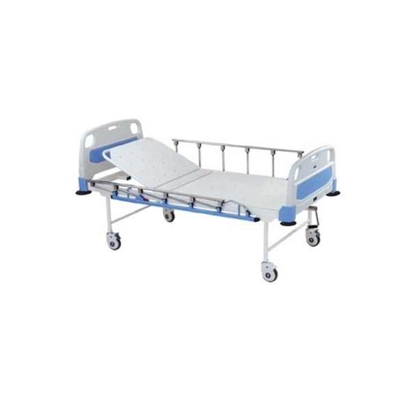 GENERAL HOSPITAL BED WITH ABS PLSTIC PANELS AND SWING OFF SIDE RAILS