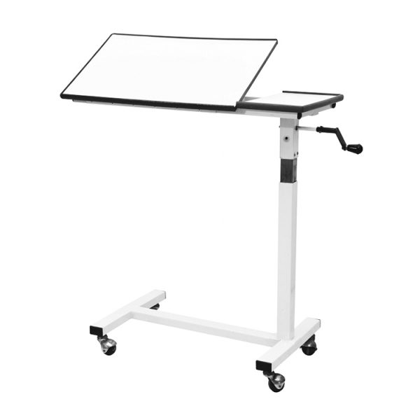Height Adjustable Over Bed Side Table
