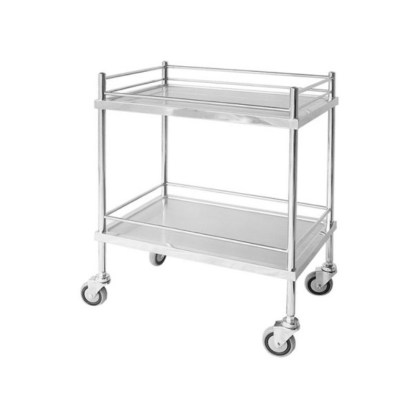 Instrument Trolley With Railing