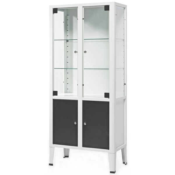 Surgical Instrument Cabinet With Half Cupboard
